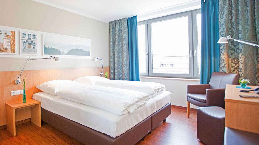 Schlaf, Ruhe und Entspannung bei optimaler Raumtemperatur und immer frischer Luft.